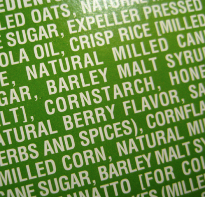 Corn in Very Berry cereal